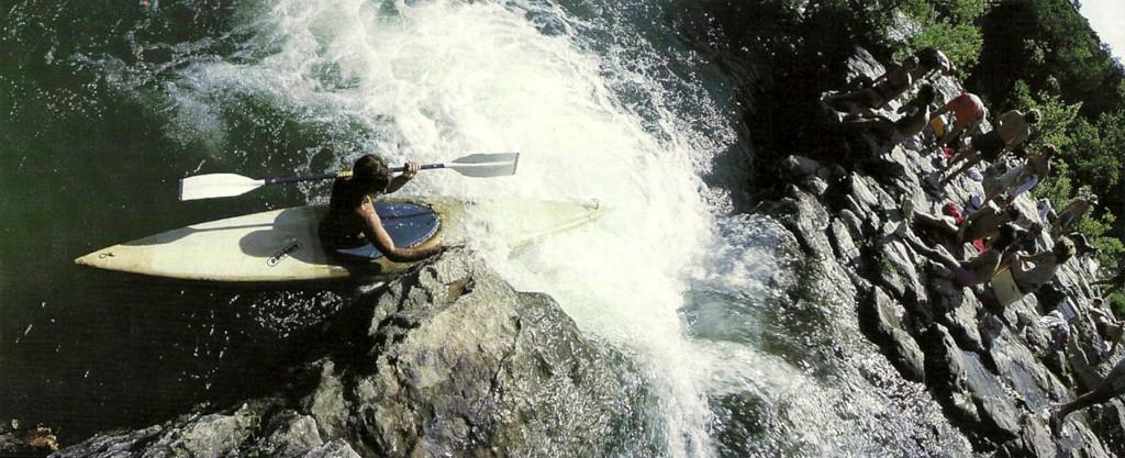 Kayaker on Barton Creek