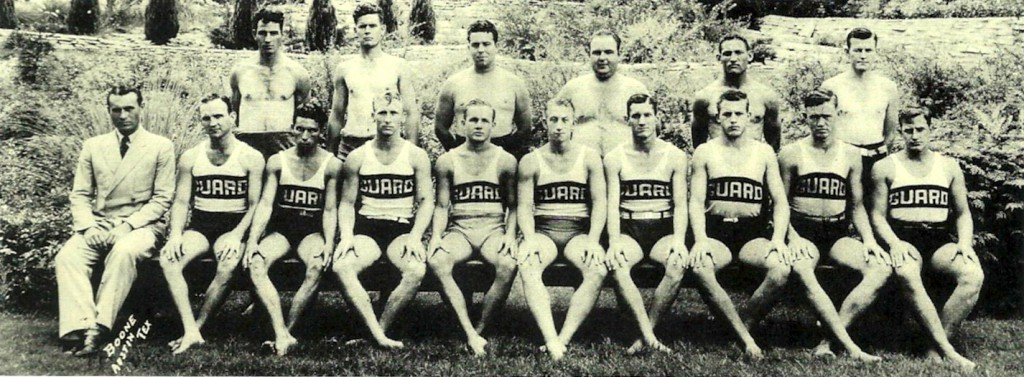 Barton Springs lifeguards circa 1930's
